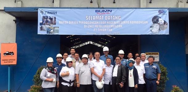 Sinergitas Evaluasi Kinerja Perdagangan Luar Negeri Ekspor Timah Kementerian Perdagangan Republik Indonesia