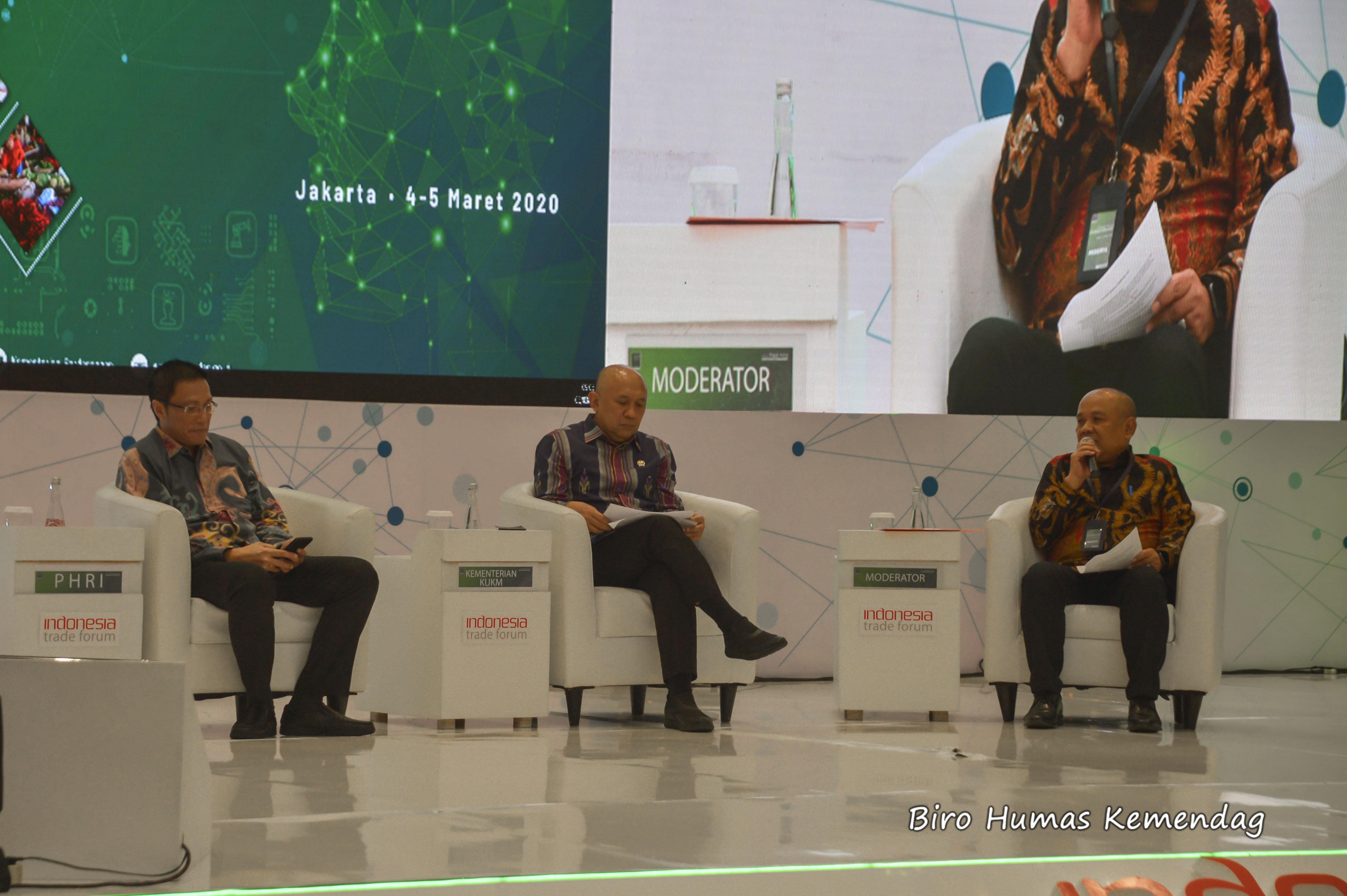Kementerian Perdagangan Republik Indonesia Diskusi Panel Sinergitas Pemberdayaan Umkm Dalam Penguatan Pasar Dalam Negeri